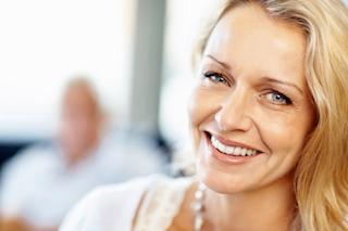 Smiling Woman | Dental extractions jensen beach